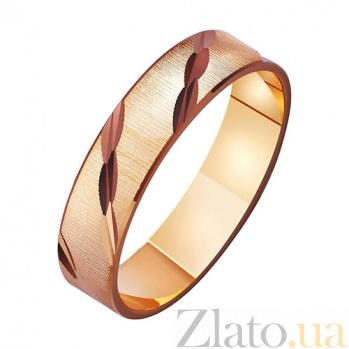 Золотое обручальное кольцо Together forever TRF--411059