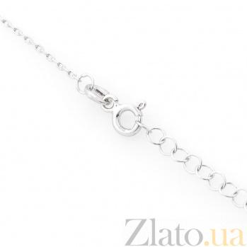 Серебряное колье Илэрия с фианитами 000080120