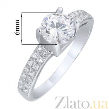 Серебряное кольцо Рамона AUR--81512б