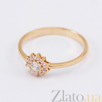 Кольцо из красного золота с фианитами Назира VLN--212-1715
