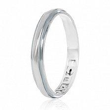 Кольцо из серебра Священные слова