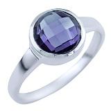 Серебряное кольцо Зухра с александритом