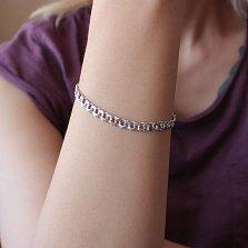Серебряный браслет Клермон, 21,5 см