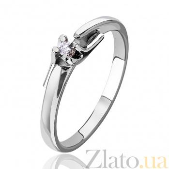 Золотое кольцо с бриллиантом Марика EDM--КД7413/1