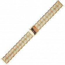 Золотой браслет для часов Треффорд