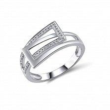 Кольцо из белого золота Эшли с бриллиантами