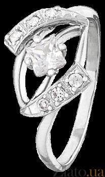 Серебряное кольцо с фианитами Мармария 000025761