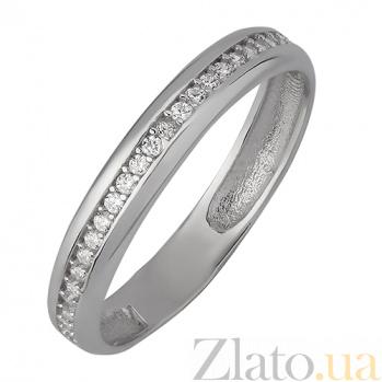 Кольцо с белыми фианитами Лариса 2213.1