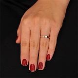 Золотое обручальное кольцо Искренность любви