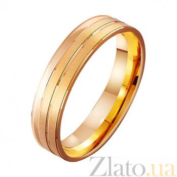 Обручальное кольцо из красного золота Конкордия TRF--411870