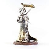 Серебряная статуэтка Юстиция