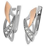 Серебряные серьги Зара