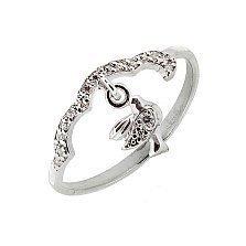 Серебряное кольцо с цирконием Height
