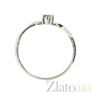 Кольцо из белого золота с бриллиантом Яна ZMX--RD-6661w_K