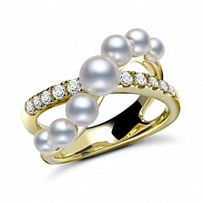 Кольцо Baruch с жемчугом и бриллиантами