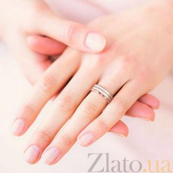 Обручальное кольцо из розового золота Тайна: Вдохновение 6347