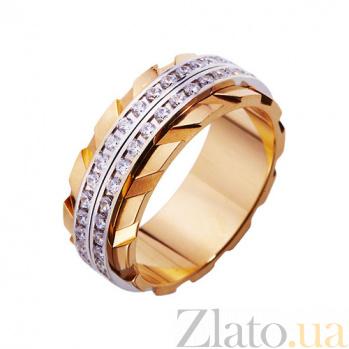Золотое обручальное кольцо Особый шик TRF--4221008