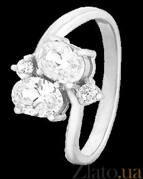 Кольцо из серебра с цирконием Самира 000025693