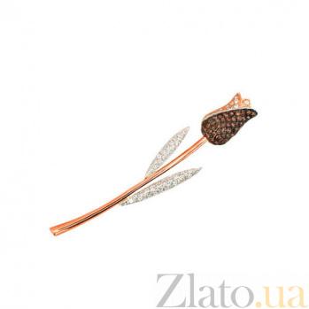 Брошь Тюльпан VLT--ЕЕ431-4