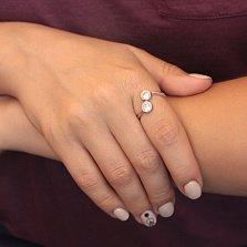 Серебряное кольцо с фианитами Сиджи