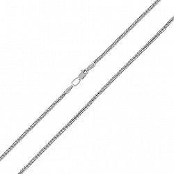 Серебряный браслет Нормандия в плетении плоский снейк, 3,5мм