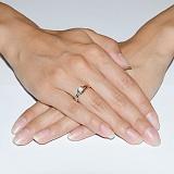 Кольцо золотое Гвинетт
