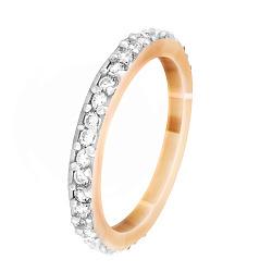 Серебряное кольцо с цирконием Киана