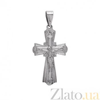 Серебряный крестик Посланник небес 3П480-0007