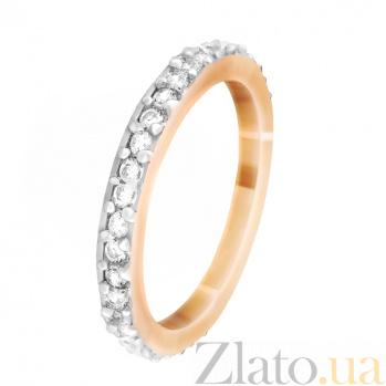 Серебряное кольцо с цирконием Киана 000028184
