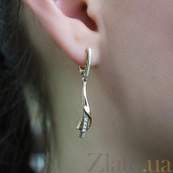 Серьги с бриллиантами Мариэлла VLA--24930