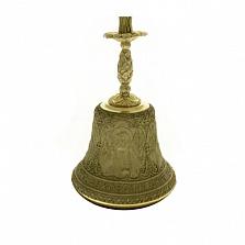 Большой колокольчик Свято-Духовский скит с подсвечником