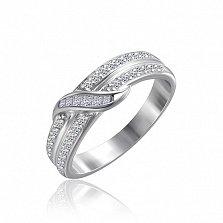 Серебряное кольцо Амранти с фианитами