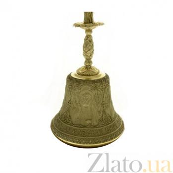 Большой колокольчик Свято-Духовский скит с подсвечником K4302
