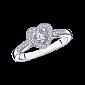 Бриллиантовое кольцо в белом золоте Sex Love Touch R-SLT-W-diam-diam