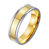 Золотое обручальное кольцо Наша вечная любовь