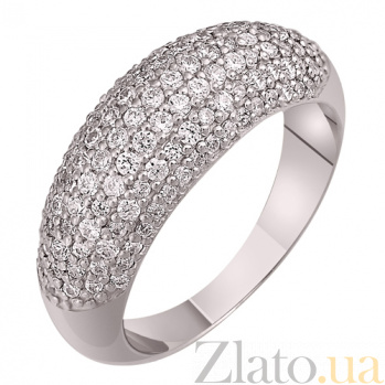 Кольцо из белого золота Лоск с фианитами SVA--1195582/Фианит/Цирконий