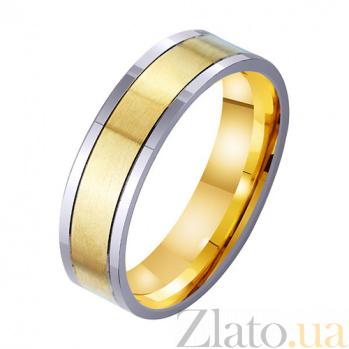Золотое обручальное кольцо Наша вечная любовь TRF--4511740
