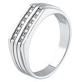 Серебряный перстень Селена