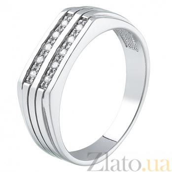 Серебряный перстень Селена HUF--13608-Р