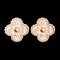 Серьги из розового золота Alhambra E-VCA-Algamra-R