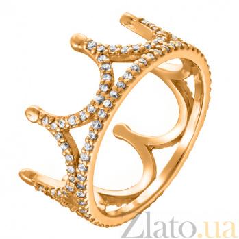 Золотое кольцо Корона SVA--1101274101/Фианит/Цирконий
