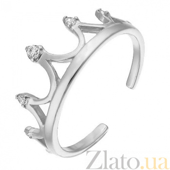 Золотое кольцо Антуанетта 000012261