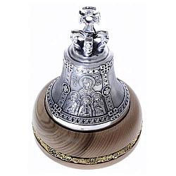 Посеребрённый колокольчик Св. Вера, Св. Надежда, Св. Любовь и мать их Св. София