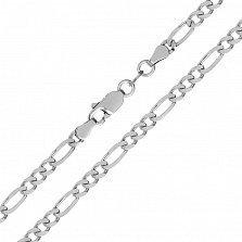 Серебряная цепь Сарагоса, 3,5 мм
