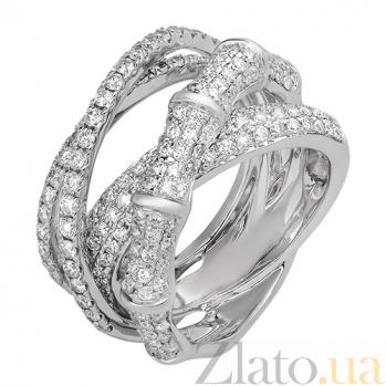 Кольцо из белого золота с бриллиантами Айседора R-02958