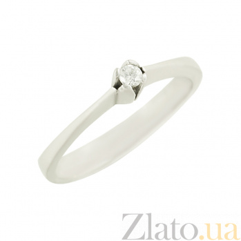 Серебряное кольцо с цирконием Дарья 3К090-0098