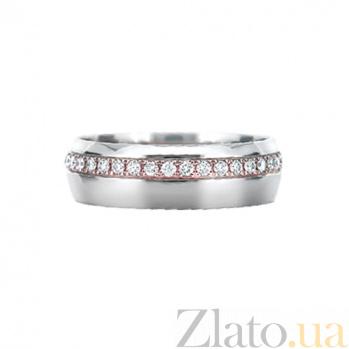 Кольцо из белого золота с бриллиантами Блеск страсти 000029741