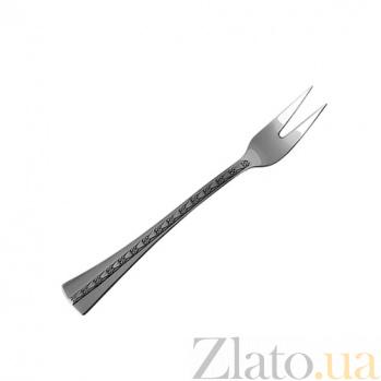 Вилка для сервировки Централь из серебра ZMX--112_664