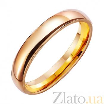 Золотое обручальное кольцо Классика TRF--411387