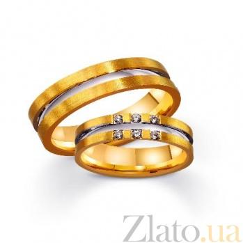 Золотое обручальное кольцо Fashion look TRF--4421403